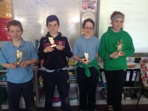 Congratulations to the finalists in the 5th and 6th class lunch time Handball League
